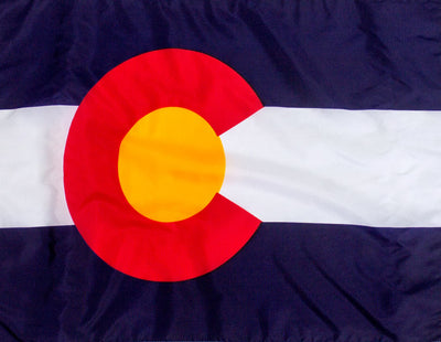 Outdoor Nylon Colorado Flag - Flag of Colorado