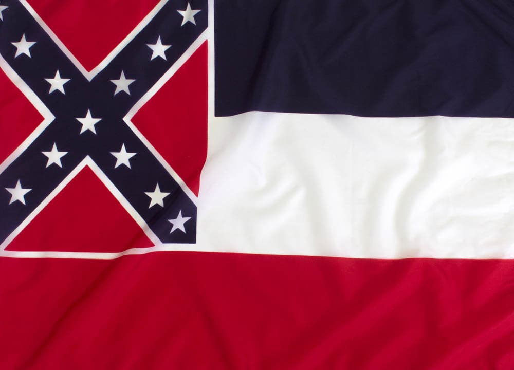 Outdoor Nylon Mississippi Flag