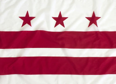 3x5ft Washington DC Flag