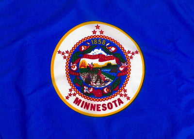 Outdoor Nylon Minnesota Flag