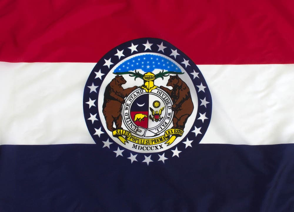 8x12ft  Missouri Flag