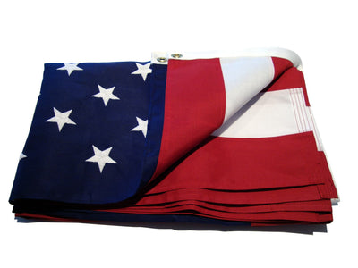 Heavy Duty 2-Ply Polyester American Flag - Folded