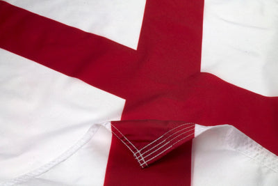 Nylon Alabama Flag Close Up