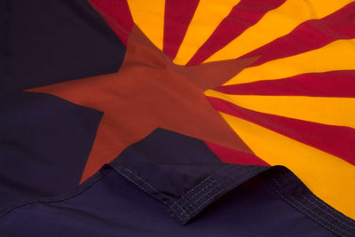 Arizona Flag Close Up