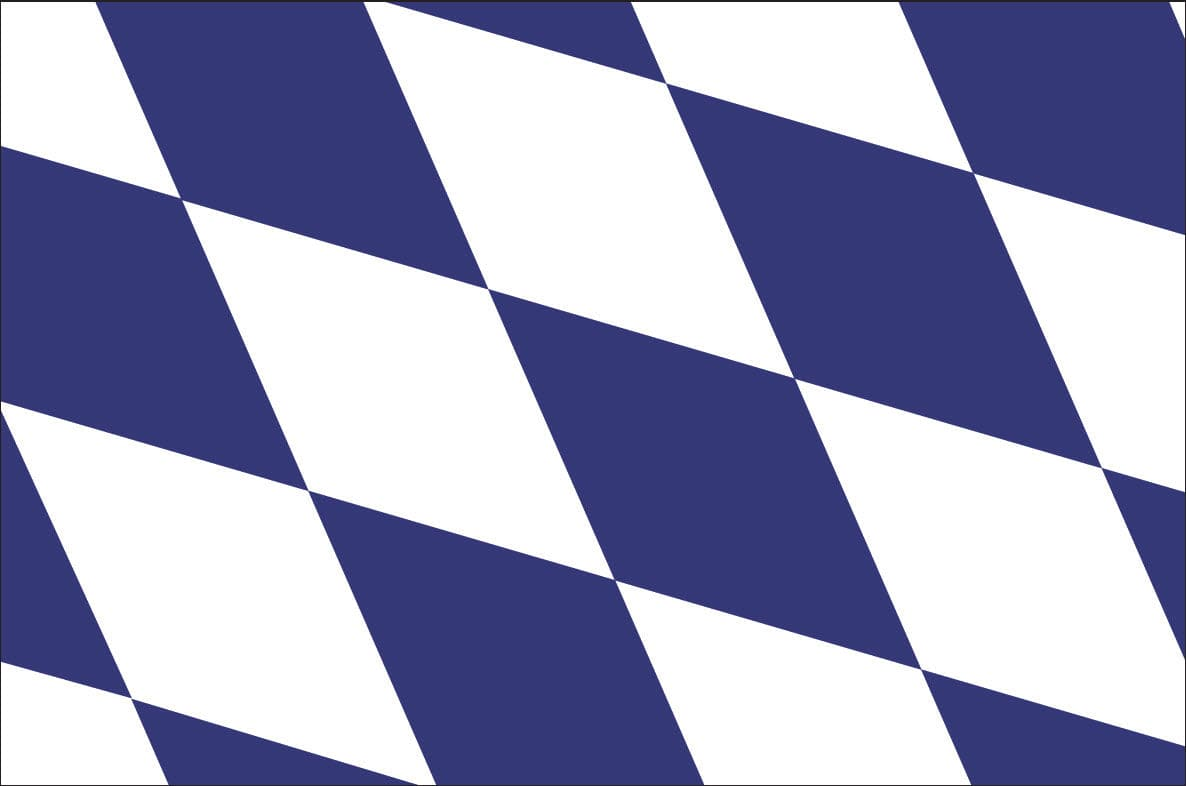 Bavarian Flag / Flag of Bavaria