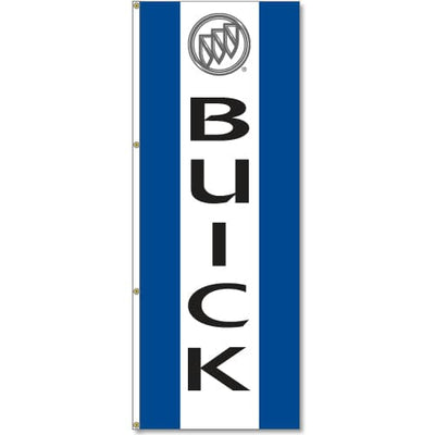 Buick Logo Flag Blue White Blue