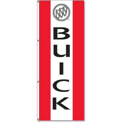 Buick Logo Flag Red White Red