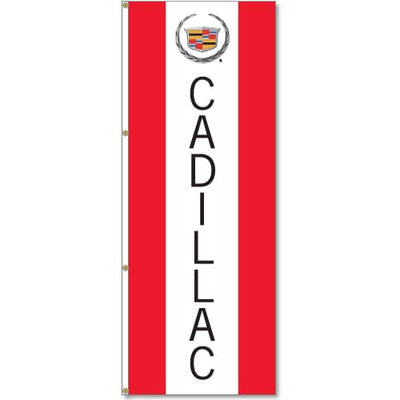 Cadillac Flag Red White Blue