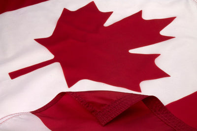 Canada Flag / Canadian Flag Close Up