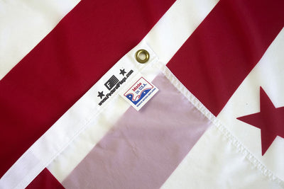 District of Columbia flag made in US