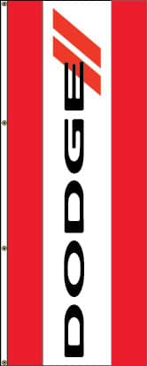 Dodge Logo Flag