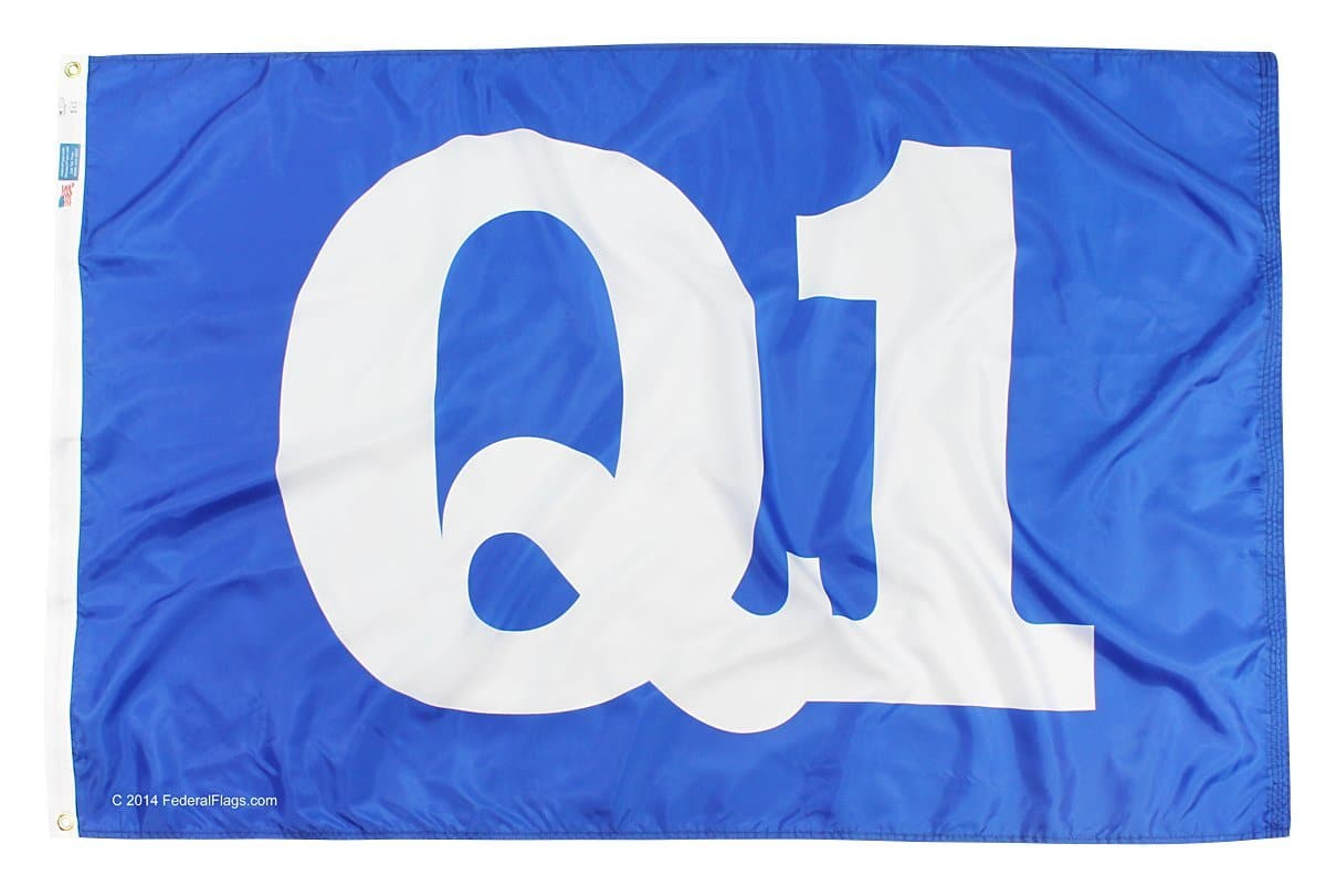 Federal Flags Premium Quality Q1 Flag - 3x5ft