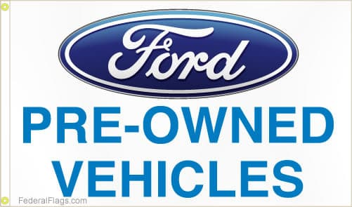 Ford Pre-Owned Flag