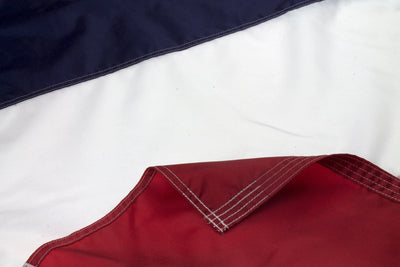 French Flag, Close Up
