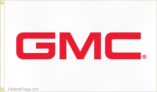 3x5 ft. GMC Logo Flag