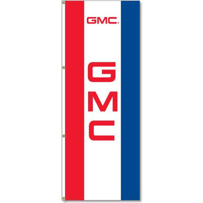 GMC Logo Flag - Red White Blue