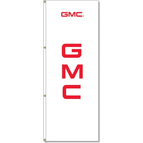 3x8ft GMC Logo Flag / Single sided printing