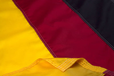 German Flag / Flag of Germany Close Up
