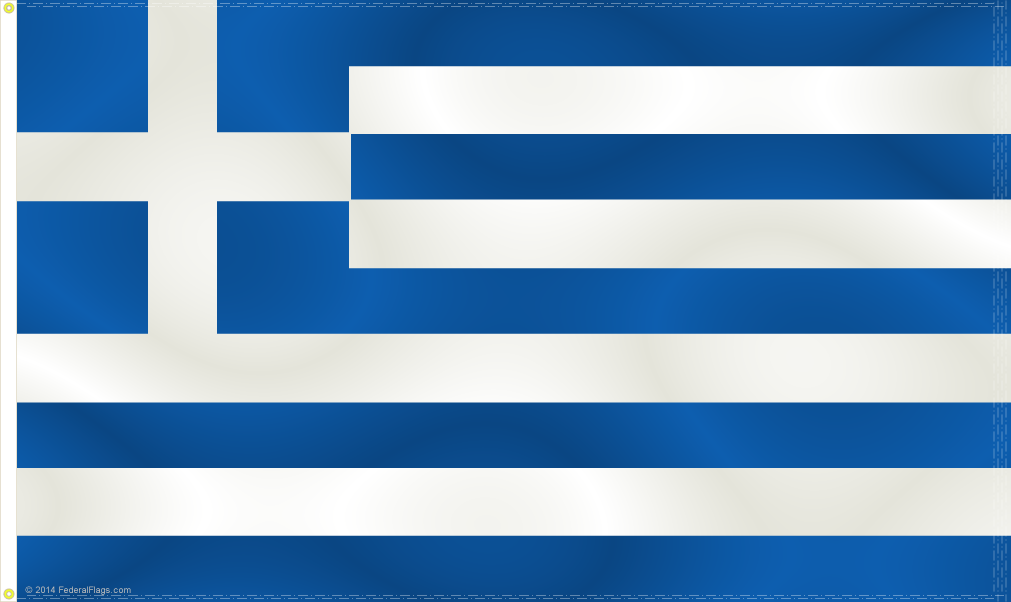 3x5ft Greek Flag