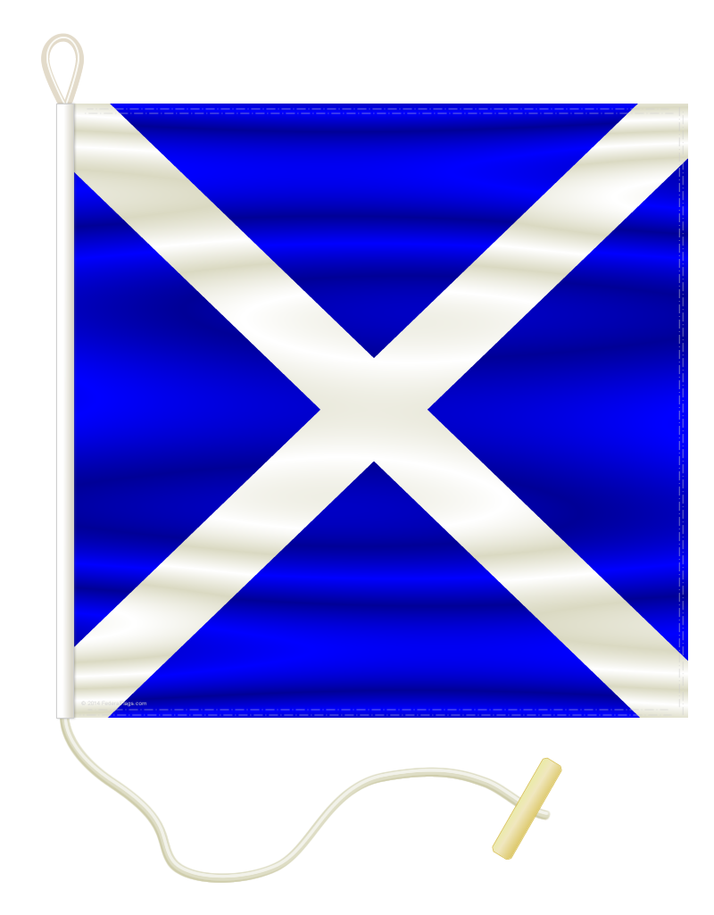 Signal Flag: M - MIKE - 4x6ft (Size 14)