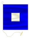 Nautical Signal Flag P - PAPA