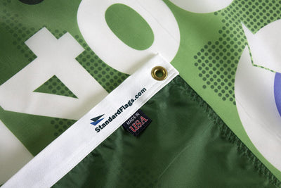 ISO 14001 2015 flag made in USA