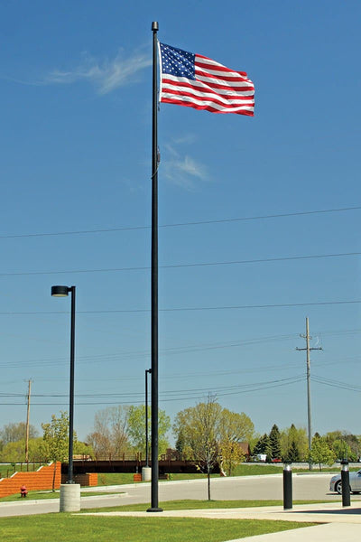 Commercial Flagpole Bronze Anodized Finish
