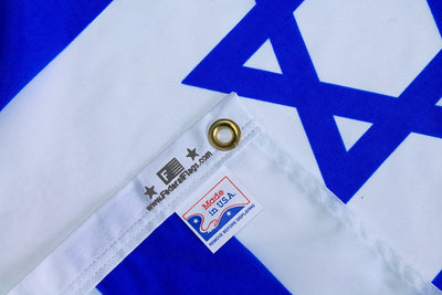 Israel flag made in USA
