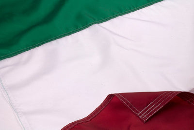 Italian Flag / Italy Flag Close Up