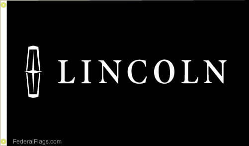 Lincoln Flag with background