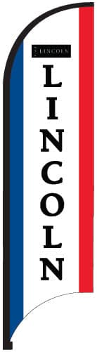 Lincoln Logo Sail Banner - 11ft
