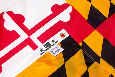 Maryland flag made in USA