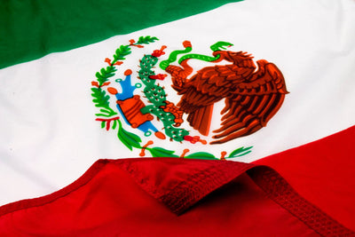 Mexico Flag / Mexican Flag Close Up