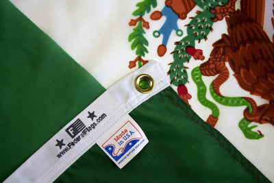 Mexico flag made in USA