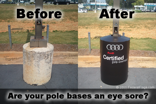 Poletector 360 Pole Base Cover