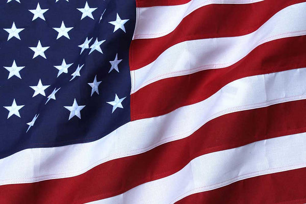2-ply Polyester American Flags (Heavy Duty)