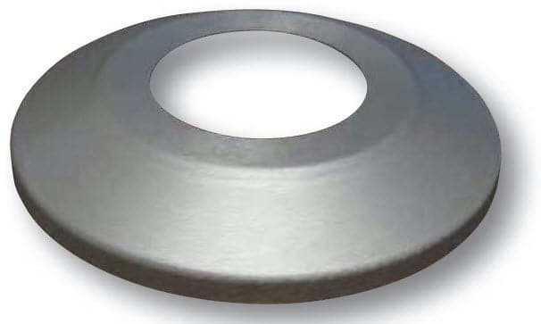 Aluminum Flash Collar for 3.5 in. Butt Diameter Commercial Flagpoles