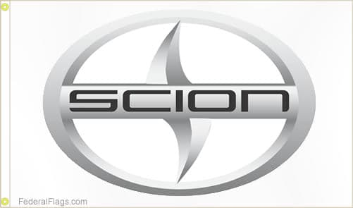3x5 ft. Scion Logo Flag