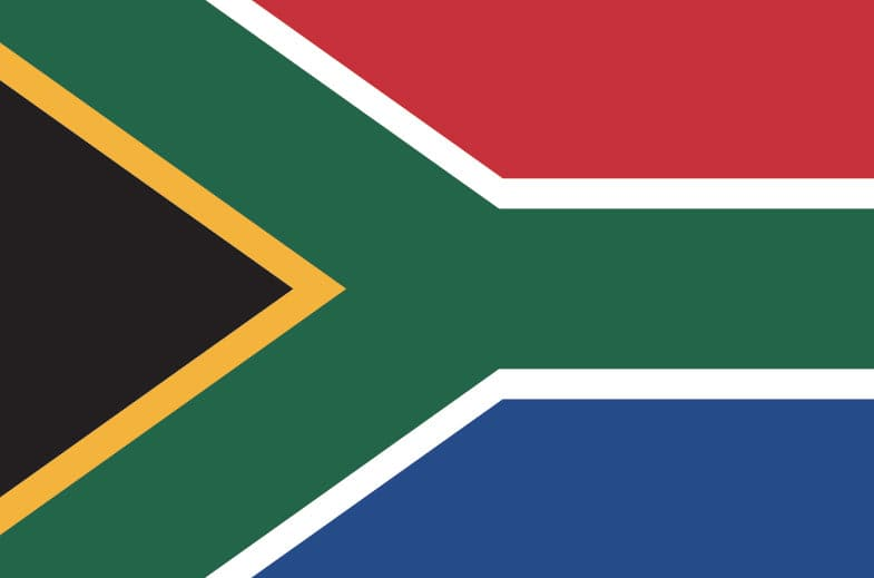 4x6ft South Africa Flag