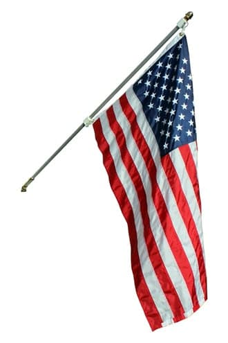Statesman American Flag Set With Nylon American flag - Our Best Set