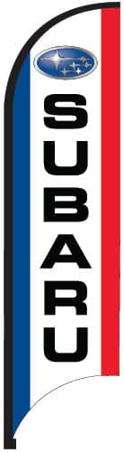 Subaru Bow Flag - 11ft