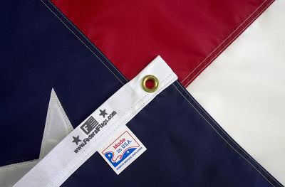Texas flag made in USA