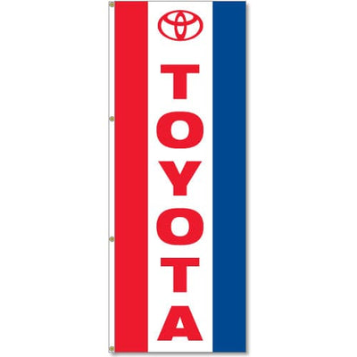 Toyota Flag Red White Blue