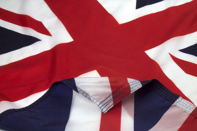British Flag, Close up