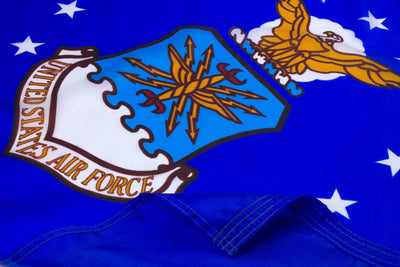 Highest Quality Nylon Air Force Flag - Closeup