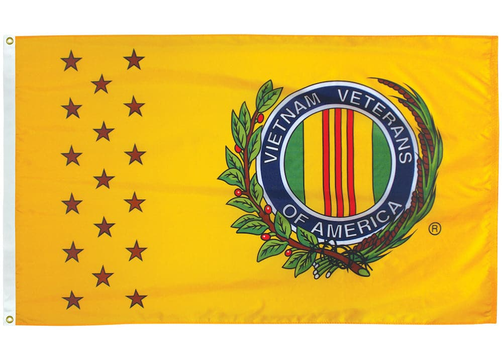 Vietnam Veterans Flag - Premium Quality Outdoor Nylon