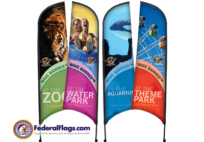 Custom Wave Flags