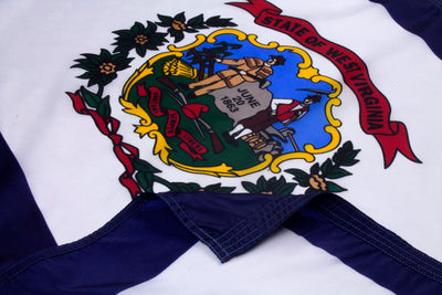 Virginia Flag Close Up