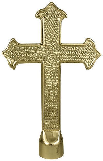 Fancy Metal Cross Ornament