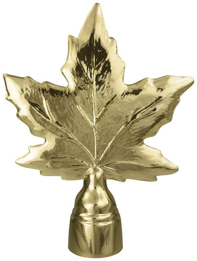 Maple Leaf Flagpole Ornament